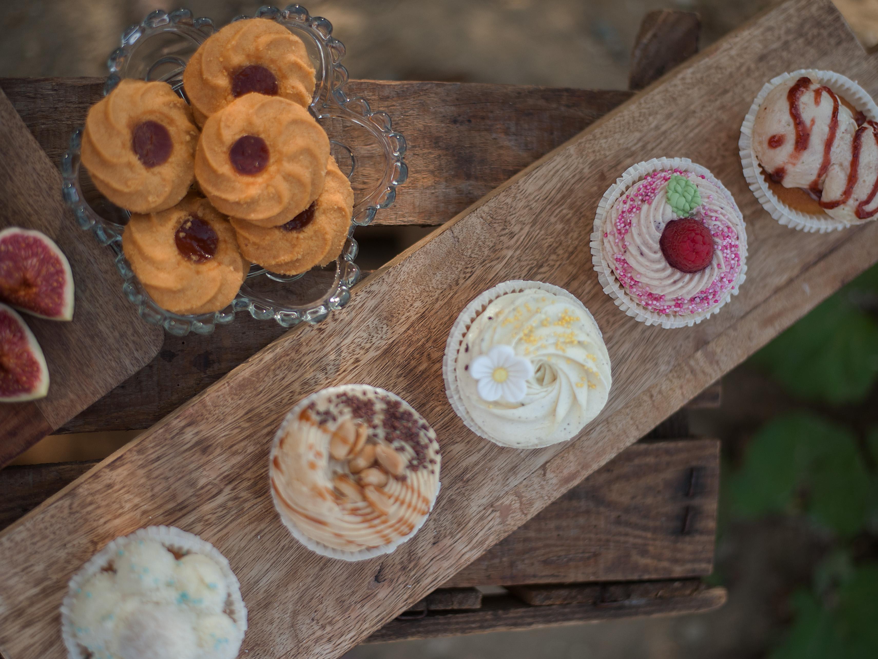 Cupcakes und Kekse